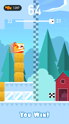 Square Bird - Tower Egg screenshot 6