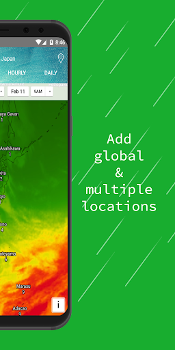 Weather Radar — Live Maps & Alerts screenshot 5