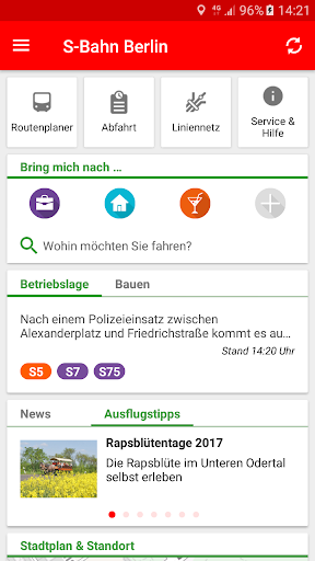 S-Bahn Berlin screenshot 1