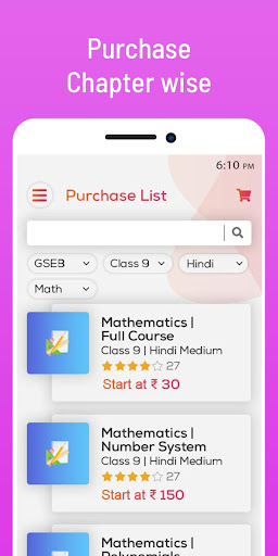Bright Tutee :Learning & Study App for Class 9 &10 screenshot 7