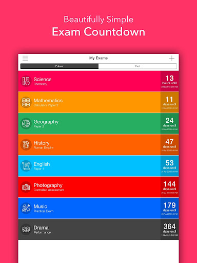 Exam Countdown Lite screenshot 5