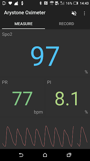 Pulse Oximeter screenshot 1