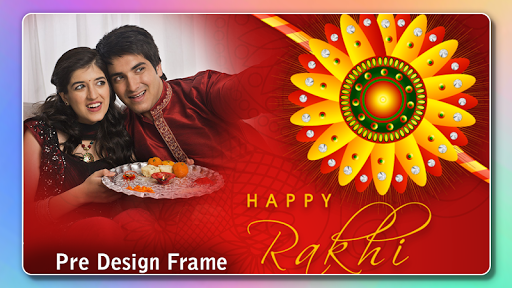 Rakhi Photo Frame 2020 captura de pantalla 4