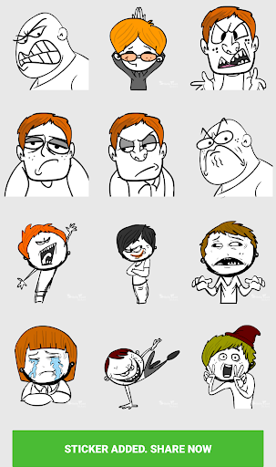 Stickers For WhatsApp ( WAStickerApps ) screenshot 5