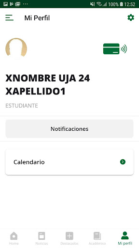 La App oficial de la Universidad de Jaén screenshot 8