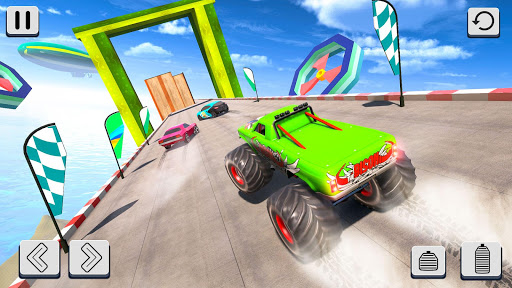 Mega Ramp Car Racing Stunts 3D screenshot 3