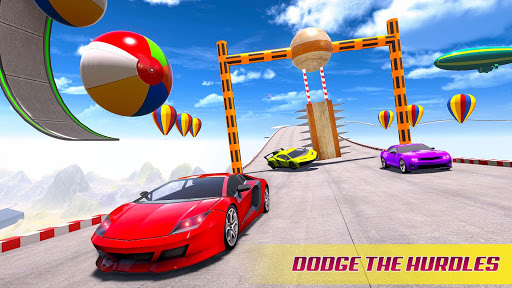 Mega Ramp Car Racing Stunts 3D screenshot 2