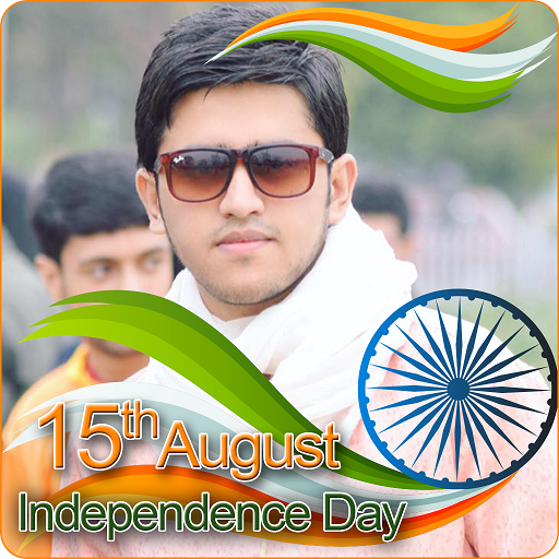 India Flag Face Photo Maker & 15th August DP screenshot 1
