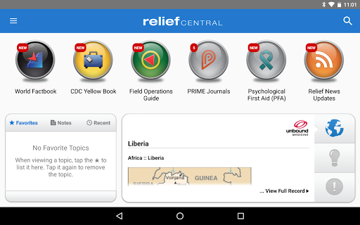 Relief Central screenshot 9