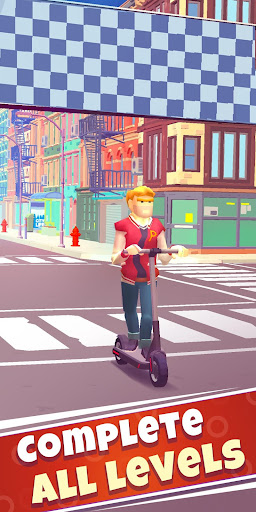 Free Robux Scooter Ride screenshot 1