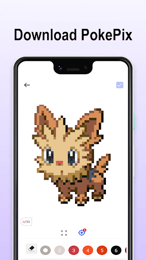 Pokezz Color by number screenshot 2