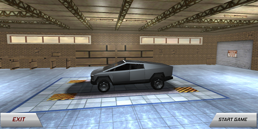 Cybertruck City Car Drift Simulator screenshot 1