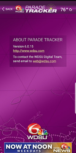 WDSU Parade Tracker screenshot 4
