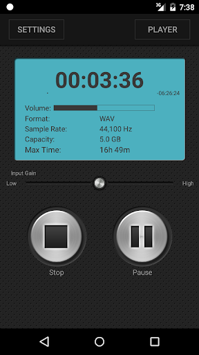 PCM Recorder screenshot 2