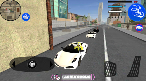 Sponge Stickman Rope Hero Vegas Gangstar Crime screenshot 3