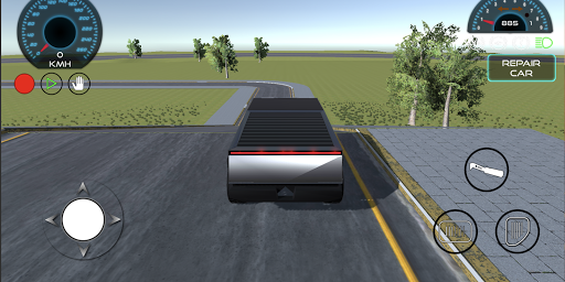 Cybertruck City Car Drift Simulator screenshot 2