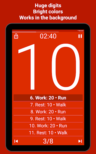 Tabata Timer screenshot 10