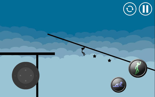 Stickman Parkour Platform screenshot 1