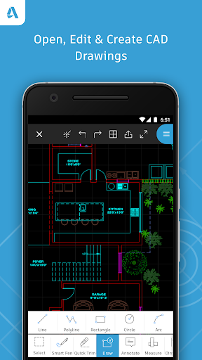 AutoCAD 360 screenshot 1