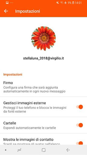 Virgilio Mail screenshot 6