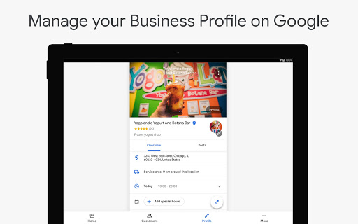 Google My Business screenshot 6