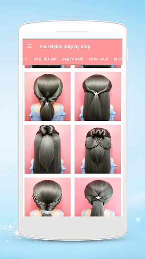 Hairstyles step by step for girls screenshot 6