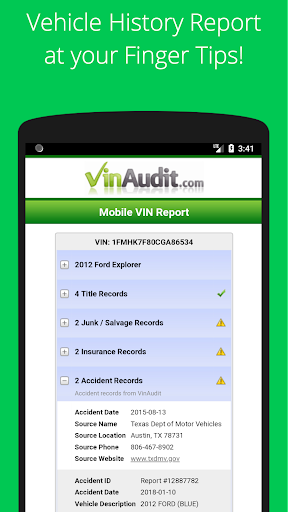 Free VIN Check Report & History for Used Cars Tool screenshot 2