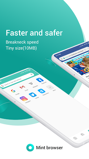 Mint Browser screenshot 1