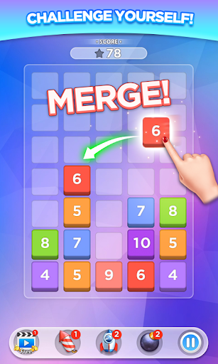 Merge Number Puzzle screenshot 1
