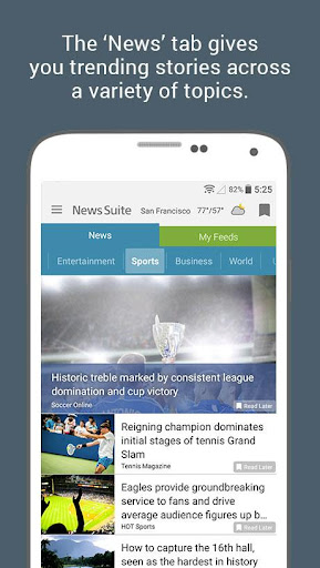 News Suite by Sony screenshot 2