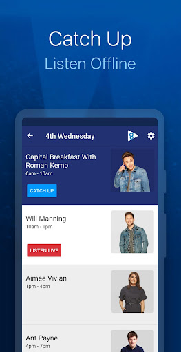Capital FM Radio App screenshot 3