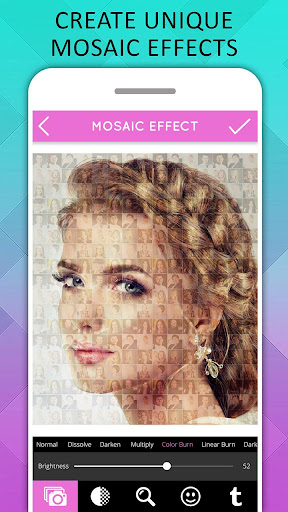 Mosaic Photo Effects screenshot 2