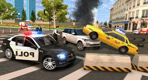 Police Car Chase Simulator screenshot 2