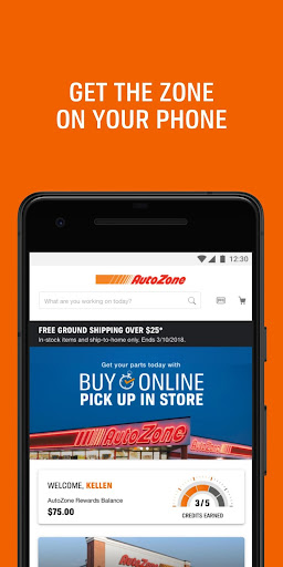 AutoZone for Android screenshot 1