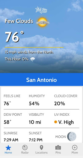 South Texas Weather Authority screenshot 2