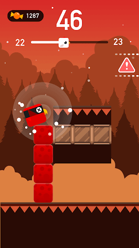 Square Bird - Tower Egg screenshot 3