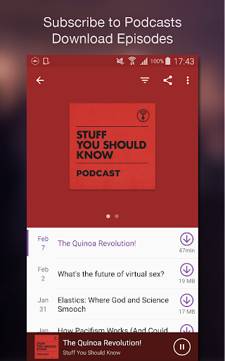 Podcast Player screenshot 5