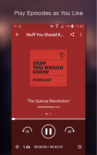 Podcast Player screenshot 4