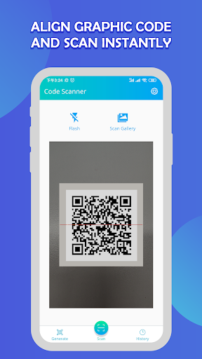 Free QR Code Reader screenshot 1