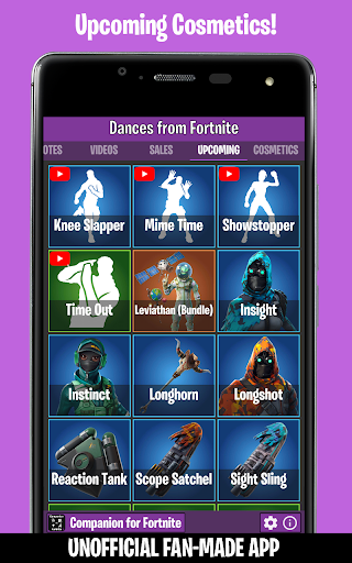 Dances from Fortnite (Emotes, Shop, Wallpapers) screenshot 4
