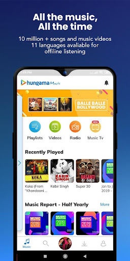 Hungama Music screenshot 1