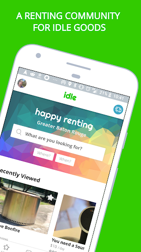Idle - Rent Any Thing - Earn Any Time screenshot 1