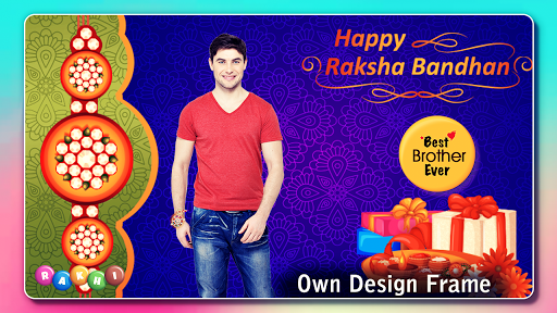 Rakhi Photo Frame 2020 captura de pantalla 7