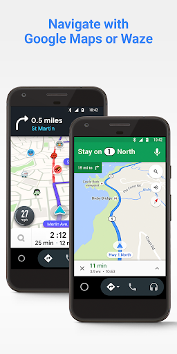 Android Auto for phone screens screenshot 2