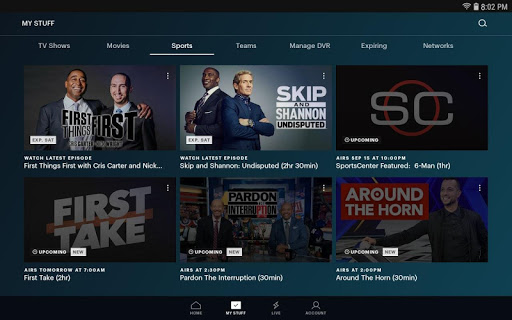 Hulu for Android TV screenshot 2