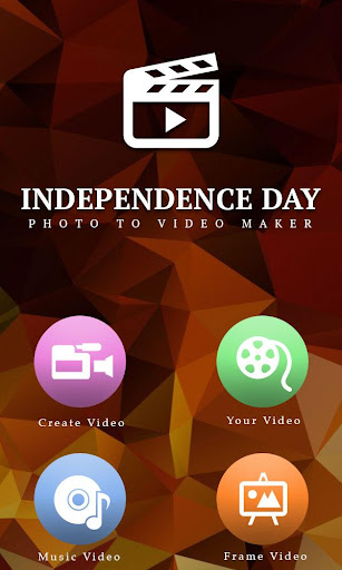 Independence Day Video Maker screenshot 1
