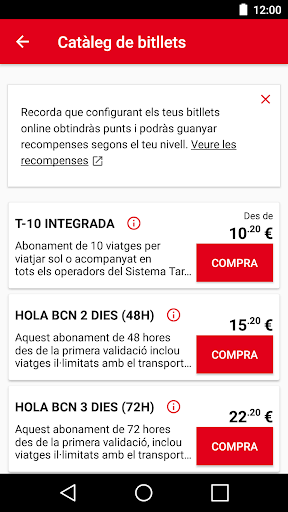 TMBAPP (Metro Bus Barcelona) screenshot 5