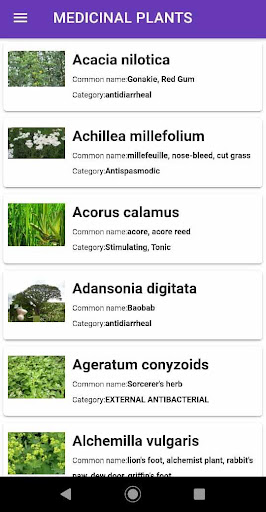 Medicinal plants screenshot 2
