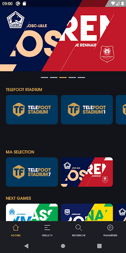 TELEFOOT LA CHAINE DU FOOT screenshot 2