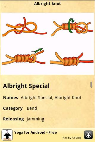 Knots Guide screenshot 2